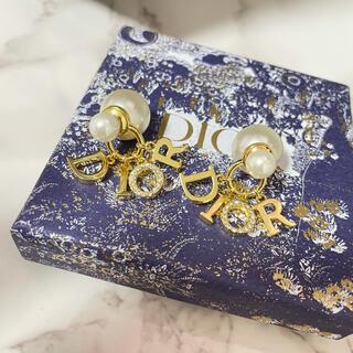 Christian Dior - Dior ディオール ピアス パール ゴールド