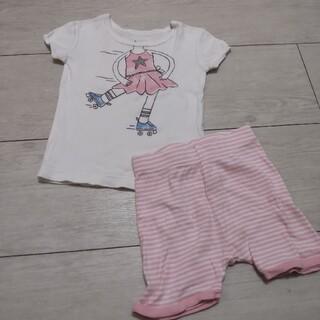 ベビーギャップ(babyGAP)のGAP  半袖パジャマ 上下セット ローラースケート 1歳半~2歳 部屋着(パジャマ)