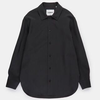 Jil Sander - 新品 定価10万 JIL SANDER シャツ ジャケット 40 黒