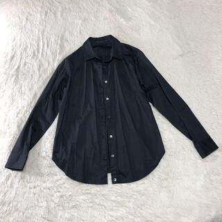 ANAYI - 美品 アナイ 長袖 シャツ ブラウス 日本製 ブラック M