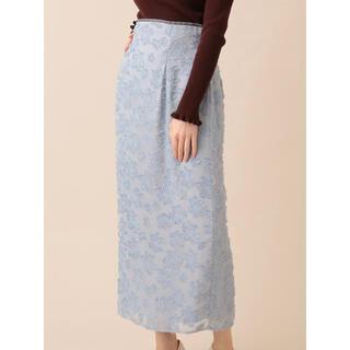 デイシー(deicy)のDEICYフラワーカットJQタイトスカート(ロングスカート)