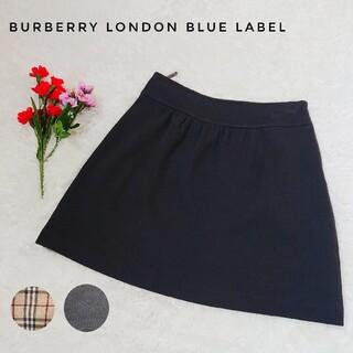 バーバリーブルーレーベル(BURBERRY BLUE LABEL)のバーバリー  ミニスカート ノバチェック シャドー ホースロゴ(ミニスカート)