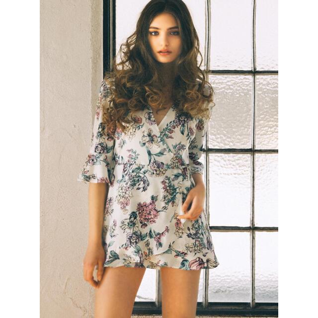 DURAS(デュラス)のDURAS 花柄ロンパース♡ レディースのパンツ(オールインワン)の商品写真