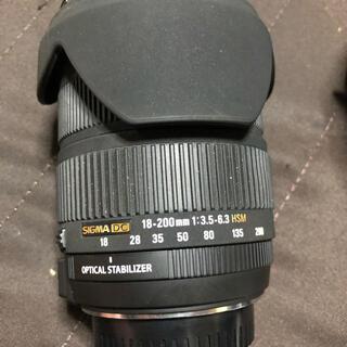 シグマ(SIGMA)のSIGMA DC 18‐200mm1:3.5‐6.3 HSM(レンズ(ズーム))