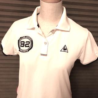 le coq sportif - ルコック ゴルフ レディース白ポロシャツ Mサイズ