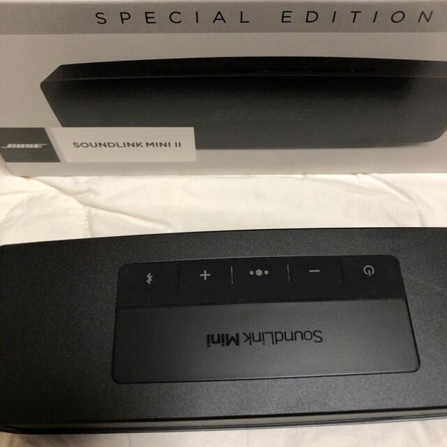 BOSE(ボーズ)の BOSE SOUNDLINK MINI Ⅱ スペシャルエディション  ブラック スマホ/家電/カメラのオーディオ機器(スピーカー)の商品写真