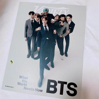 ボウダンショウネンダン(防弾少年団(BTS))のBTS 米雑誌 VARIETY 9/30号 BTS特集号(音楽/芸能)
