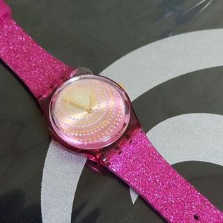 スウォッチ(swatch)の★1万円→8000円!スウォッチ 腕時計(ピンクラメ)★(腕時計)
