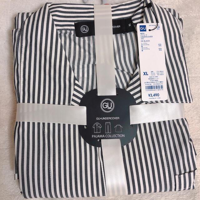 UNDERCOVER(アンダーカバー)のアンダーカバー gu  パジャマ オンライン限定 ブラック XLサイズ メンズのメンズ その他(その他)の商品写真