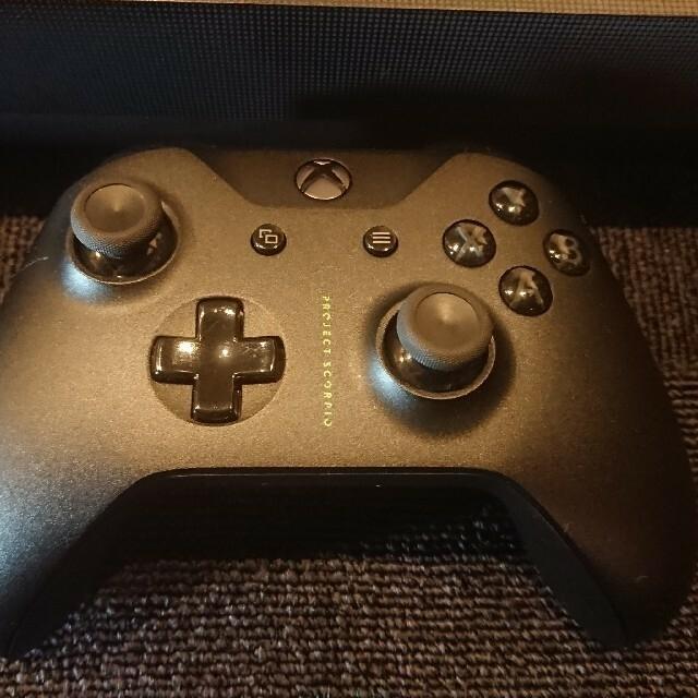 Xbox(エックスボックス)のXBOX ONE  X 本体 PROJECT SCORPIO EDITION エンタメ/ホビーのゲームソフト/ゲーム機本体(家庭用ゲーム機本体)の商品写真