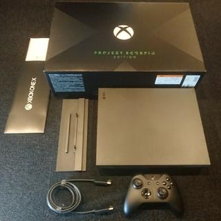 Xbox - XBOX ONE  X 本体 PROJECT SCORPIO EDITION