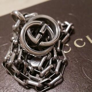Gucci - 美品 GUCCI インターロッキング WGロゴ ネックレス