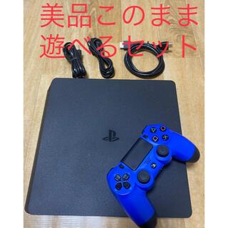 PlayStation4 - 美品PS4 本体CUH-2100Aプレイステーション4このまま遊べるセット