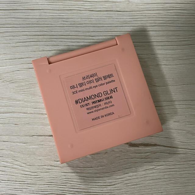 3ce(スリーシーイー)の3CE アイシャドウ #DIAMOND GLINT コスメ/美容のベースメイク/化粧品(アイシャドウ)の商品写真
