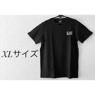 エンポリオアルマーニ(Emporio Armani)の美品!! エンポリオアルマーニ 半袖Tシャツ XLサイズ ブラック 並行輸入品 (Tシャツ/カットソー(半袖/袖なし))