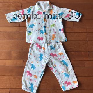 コンビミニ(Combi mini)のコンビミニ ガーゼパジャマ ぞう90 used (パジャマ)