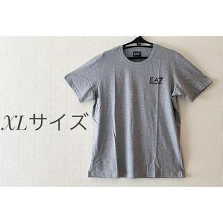 エンポリオアルマーニ(Emporio Armani)の美品!! エンポリオアルマーニ 半袖Tシャツ XLサイズ グレー 並行輸入品 (Tシャツ/カットソー(半袖/袖なし))