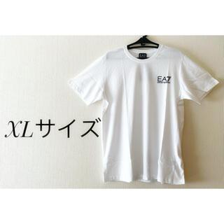 エンポリオアルマーニ(Emporio Armani)の美品!! エンポリオアルマーニ 半袖Tシャツ XLサイズ ホワイト 並行輸入品(Tシャツ/カットソー(半袖/袖なし))