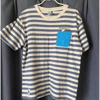 チャムス(CHUMS)の【中古美品】チャムス ボーダー Tシャツ(Tシャツ/カットソー(半袖/袖なし))