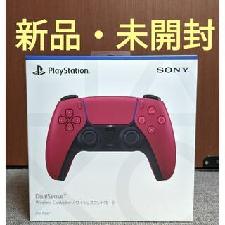 プレイステーション(PlayStation)の【PS5純正】DualSense ワイヤレスコントローラー コズミック レッド(その他)