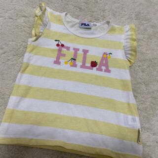 FILA - FILA 95 半袖トップス ボーダーTシャツ