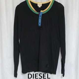 ディーゼル(DIESEL)のDIESEL ディーゼル ヘンリーネックシャツ c-492g(Tシャツ/カットソー(七分/長袖))