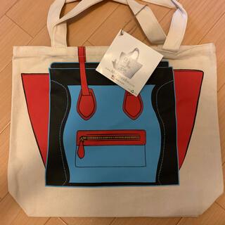 マイアザーバッグ(my other bag)のmy other bag エコバッグ キャンパス地 新品 未使用(トートバッグ)