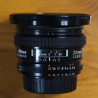 Nikon - NIKON AF Nikkor 20mm/F2.8 D  ニコン ニッコール