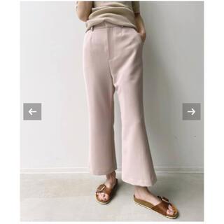アパルトモンドゥーズィエムクラス(L'Appartement DEUXIEME CLASSE)の新品未使用◇L'Appartement ◇Cropped Pants・36サイズ(クロップドパンツ)