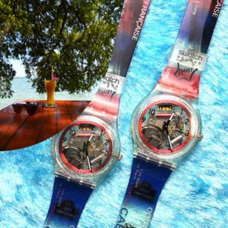 スウォッチ(swatch)のスケルトン腕時計 SWATCH ACCESS 2個セット(腕時計)