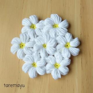 小花のコースター 9cm(雑貨)