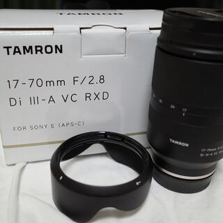 TAMRON - 最終値下げです tamron 17-70mm F/2.8 美品