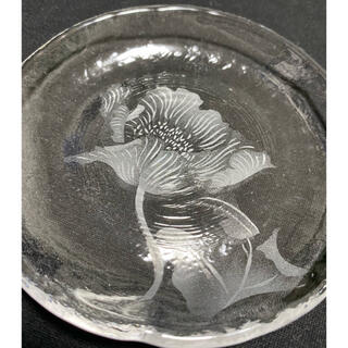 スガハラ(Sghr)のsugahara すきや12cm丸皿【加工品】ポピー(食器)