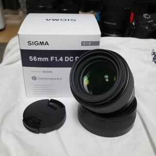 シグマ(SIGMA)の56mm F1.4 DC DN [ソニーE用](レンズ(単焦点))