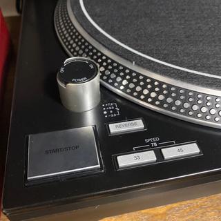 RELOOP RP-7000 MK2 BLACK、ダストカバー付き(ターンテーブル)