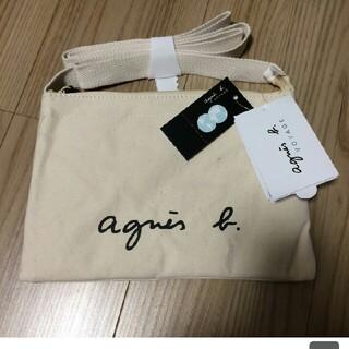 agnes b. - アニエスベー サコッシュ ナチュラル