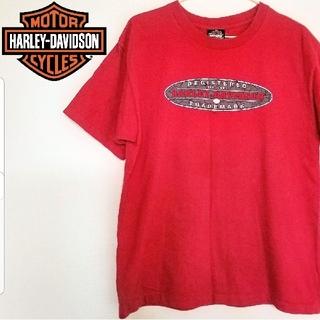 ハーレーダビッドソン(Harley Davidson)のHARLEY-DAVIDSON ハーレーダビットソン カットソー 半袖 Tシャツ(Tシャツ/カットソー(半袖/袖なし))