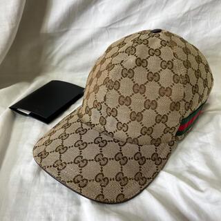 グッチ(Gucci)のGUCCI キャップ ベースボールキャップ 帽子 Lサイズ(キャップ)