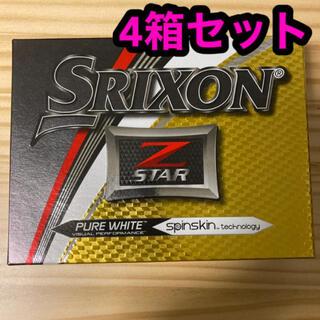 Srixon - Z-STAR SRIXON ゴルフボール ホワイト 4ダース 2017USモデル