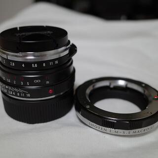 最終値下げ NOKTON classic 40mm F1.4+ヘリコイドアダプタ(レンズ(単焦点))