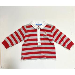 ファミリア(familiar)のファミリア 長袖 ポロシャツ 80(シャツ/カットソー)