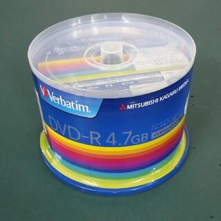 ミツビシ(三菱)の【未使用】Verbatim DVD-R 4.7G 50PACK 4個(その他)