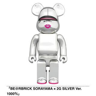 メディコムトイ(MEDICOM TOY)のBE@RBRICK SORAYAMA 2G SILVER Ver. 1000%(その他)