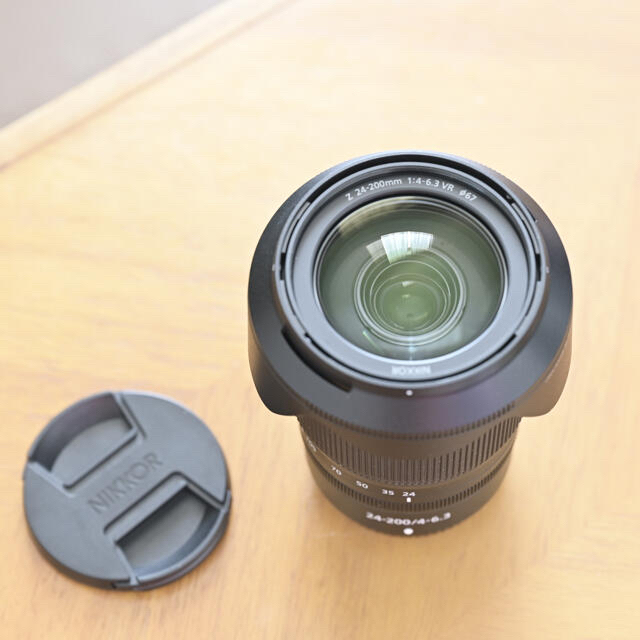 Nikon(ニコン)のNIKKOR Z 24-200mm f/4-6.3 VR Nikon ニコン スマホ/家電/カメラのカメラ(レンズ(ズーム))の商品写真