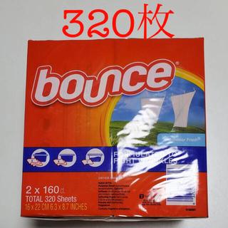 コストコ(コストコ)のバウンス 柔軟剤 ドライヤーシート 320枚(洗剤/柔軟剤)