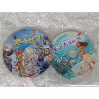 ディズニー(Disney)のモアナと伝説の海 & ズートピア DVD(アニメ)