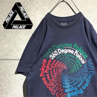 PALACE パレス 希少デザイン ビッグロゴプリント バックプリント Tシャツ(Tシャツ/カットソー(半袖/袖なし))