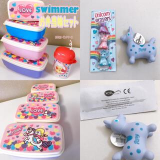 スイマー(SWIMMER)の【swimmer】弁当箱+ピックケースセット+Rody♡(キャラクターグッズ)