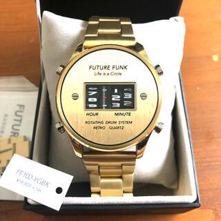 ビームス(BEAMS)の【クーポンセール】FUTURE FUNK 腕時計 ビームス限定GOLDカラー(腕時計(アナログ))