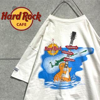 Hard Rock CAFE 希少デザイン ビッグシルエット Tシャツ(Tシャツ/カットソー(半袖/袖なし))